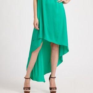 BCBGMaxAzria Uneven Hem Maxi Dress